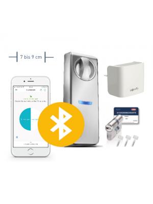 Neuheit: Somfy Smartes Türschloss ABUS Connect für Türen mit 7-9 cm Durchmesser